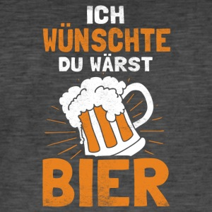 I love beer - Men's Vintage T-Shirt