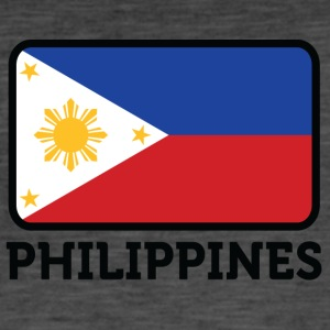 National Flag Of The Philippines - Men's Vintage T-Shirt