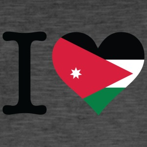 I Love Jordan - Men's Vintage T-Shirt