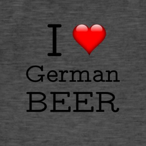 I Love German Beer - Men's Vintage T-Shirt