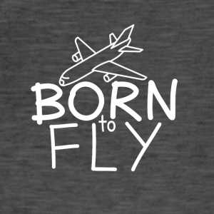 Pilots and aircraft fans: Born to fly - Men's Vintage T-Shirt