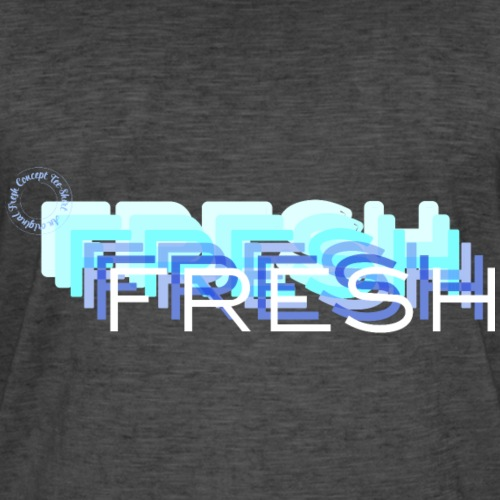 Fresh with a French Touch - T-shirt vintage Homme