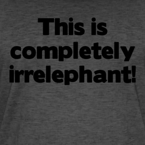 Irrelephant - Männer Vintage T-Shirt