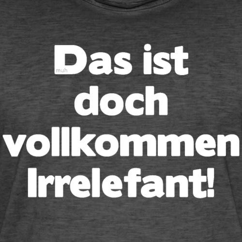 Der Irrelefant - Männer Vintage T-Shirt