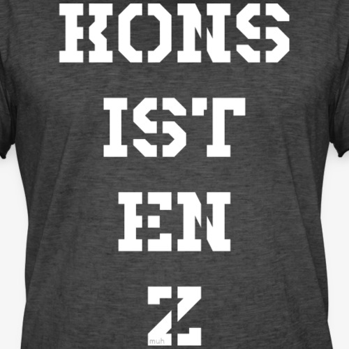 Konsistenz - weiß - Männer Vintage T-Shirt