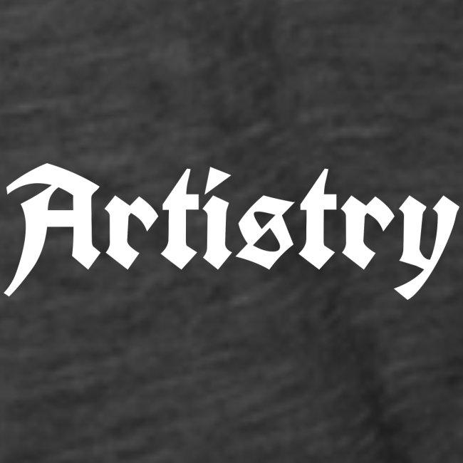 Artistry Branded White