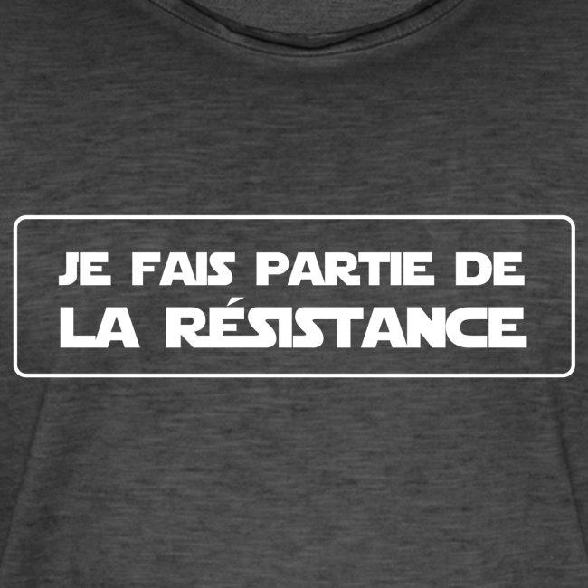 je fais partie de la résistance