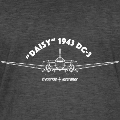 Daisy Blueprint Front 2 - Vintage-T-shirt herr