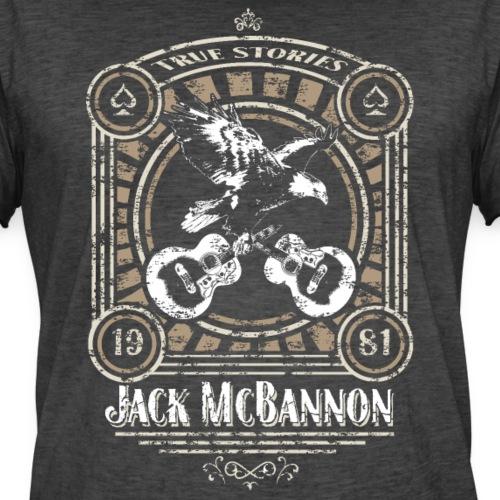 Jack McBannon - Vintage Eagle - Männer Vintage T-Shirt
