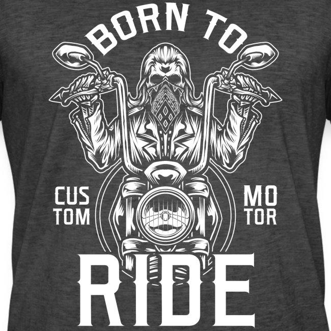 Born To Ride Black Tazzum