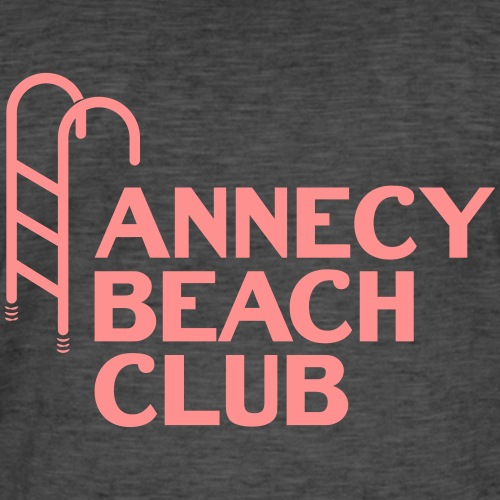 Annecy beach club - natation - T-shirt vintage Homme