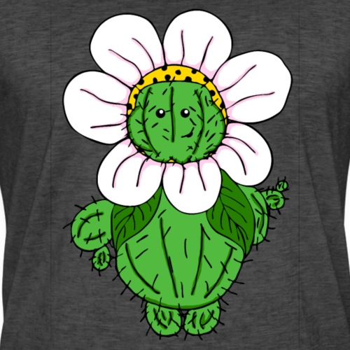 Kaktusblume - Männer Vintage T-Shirt