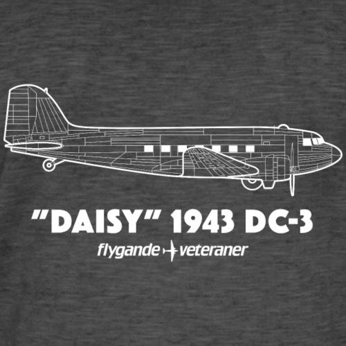 Daisy Blueprint Side 2 - Vintage-T-shirt herr