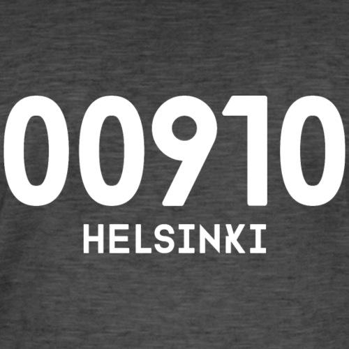 00910 HELSINKI - Miesten vintage t-paita