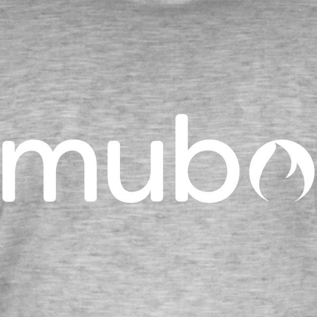 mubo logo Word White