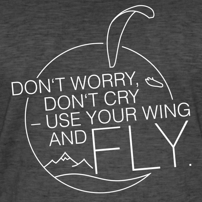 Don't Worry, Don't Cry – Use Your Wing And Fly