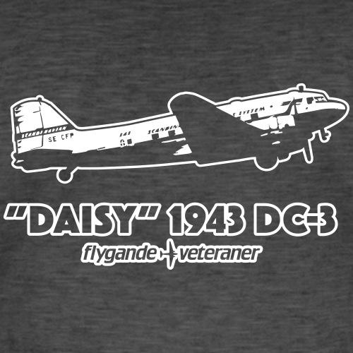 Daisy Flyby 2 - Vintage-T-shirt herr