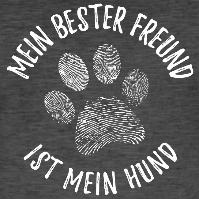 Vorschau: Mein Hund Bester Feund - Männer Vintage T-Shirt