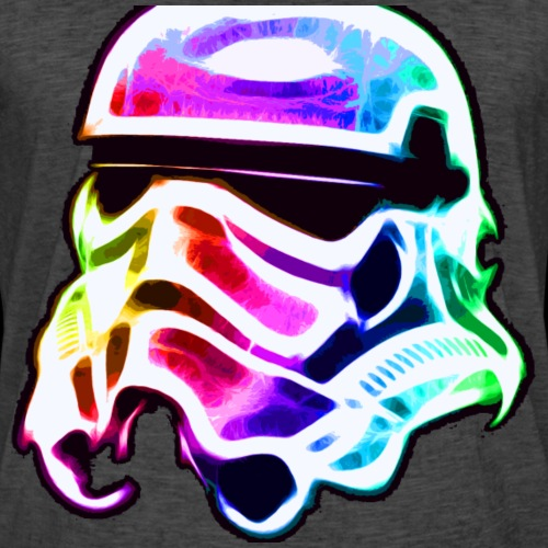 Rainbow Stormtrooper - Men's Vintage T-Shirt
