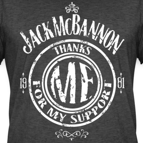 Jack McBannon Thanks Me For My Support - Männer Vintage T-Shirt