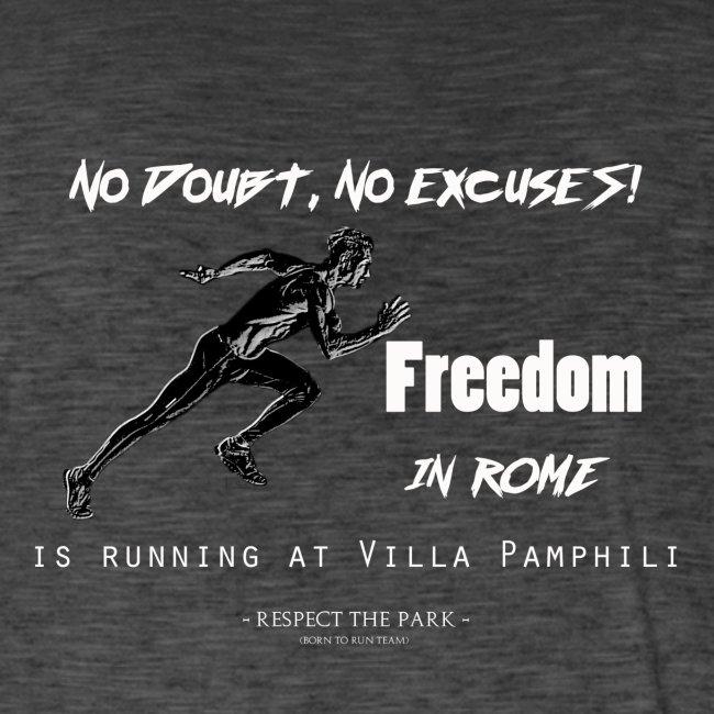 Niente scuse Runner front