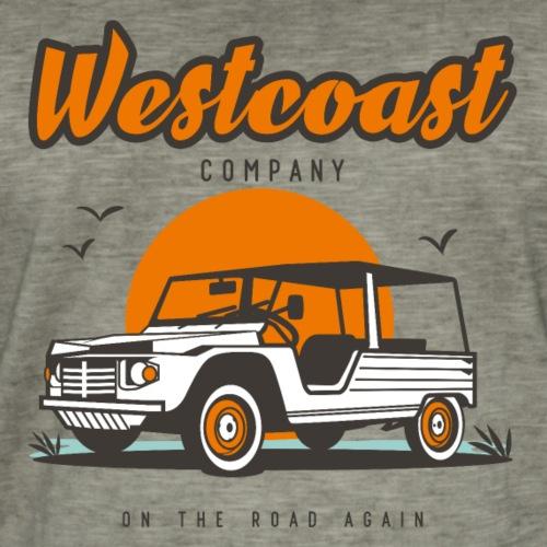 Westcoast - T-shirt vintage Homme