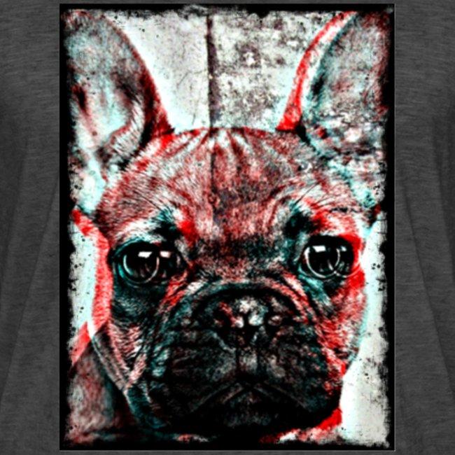 French Bulldog - Retro
