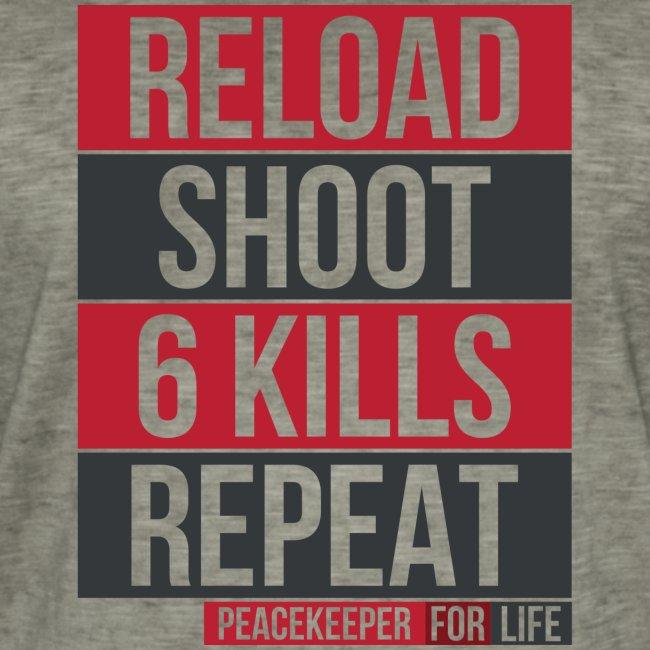Apex Legends - Peacekeeper reload shoot - Fanart