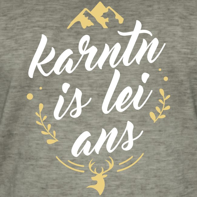 Karntn is lei ans • Nature Edition