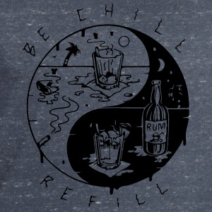 Be chill refill ying yang - Men's Sweatshirt by Stanley & Stella