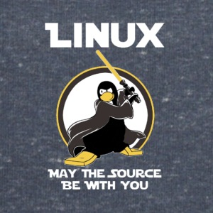 may_the_linux_source - Herresweatshirt fra Stanley og Stella
