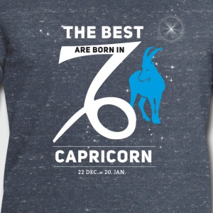 Capricorn Capricorn horoscope birthday best born - Men's Sweatshirt by Stanley & Stella