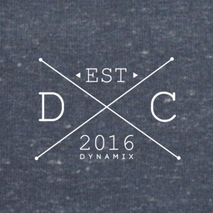 Dynamix_Clothing_Logo_White _-_ 600_dpi - Sweat-shirt Homme Stanley & Stella