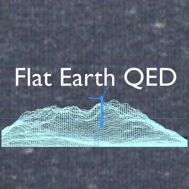 Flat Earth QED