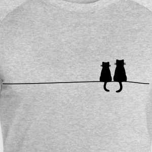 Chats paire noire - Sweat-shirt Homme Stanley & Stella
