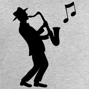 saxophone - Men's Sweatshirt by Stanley & Stella