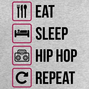 Eat Sleep Hip Hop Repeat - Mannen sweatshirt van Stanley & Stella