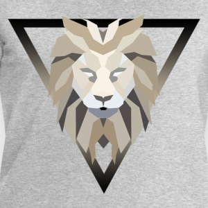 Polygonal lion - Men's Sweatshirt by Stanley & Stella