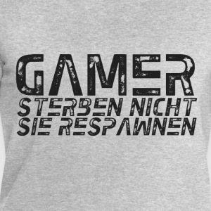 GAMER DO NOT DIE RESPAWN - Men's Sweatshirt by Stanley & Stella