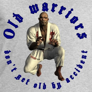 Jiu-Jitsu Old Warrior - Men's Sweatshirt by Stanley & Stella