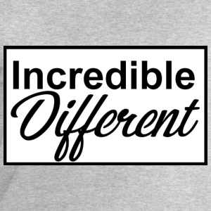 icredibledifferent_logo - Mannen sweatshirt van Stanley & Stella