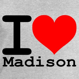 I love Madison - Men's Sweatshirt by Stanley & Stella