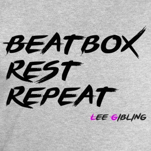 Beatbox Rest Repeat - Large - Men's Sweatshirt by Stanley & Stella