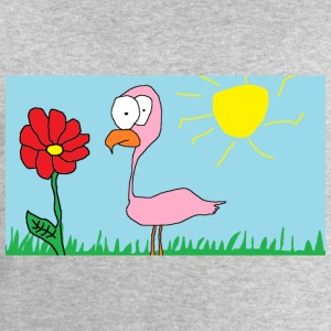 Happy Flamingo - Sweatshirt herr från Stanley & Stella