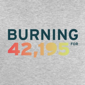 Burning for 42,195 - Men's Sweatshirt by Stanley & Stella