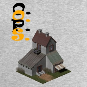 3D house - Men's Sweatshirt by Stanley & Stella
