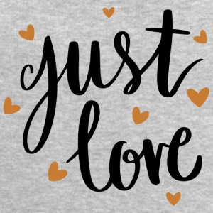 Just love - Men's Sweatshirt by Stanley & Stella