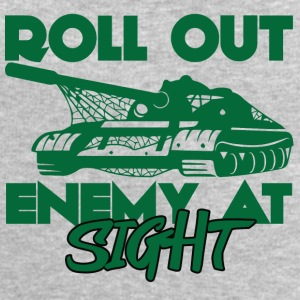 Militär / Soldaten: Roll Out Enemy At Sight - Männer Sweatshirt von Stanley & Stella