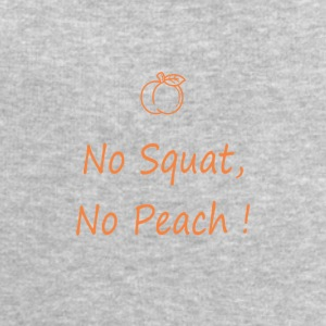 No squatting, no peach - Men's Sweatshirt by Stanley & Stella