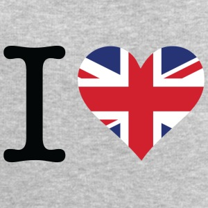 I Love The United Kingdom - Men's Sweatshirt by Stanley & Stella